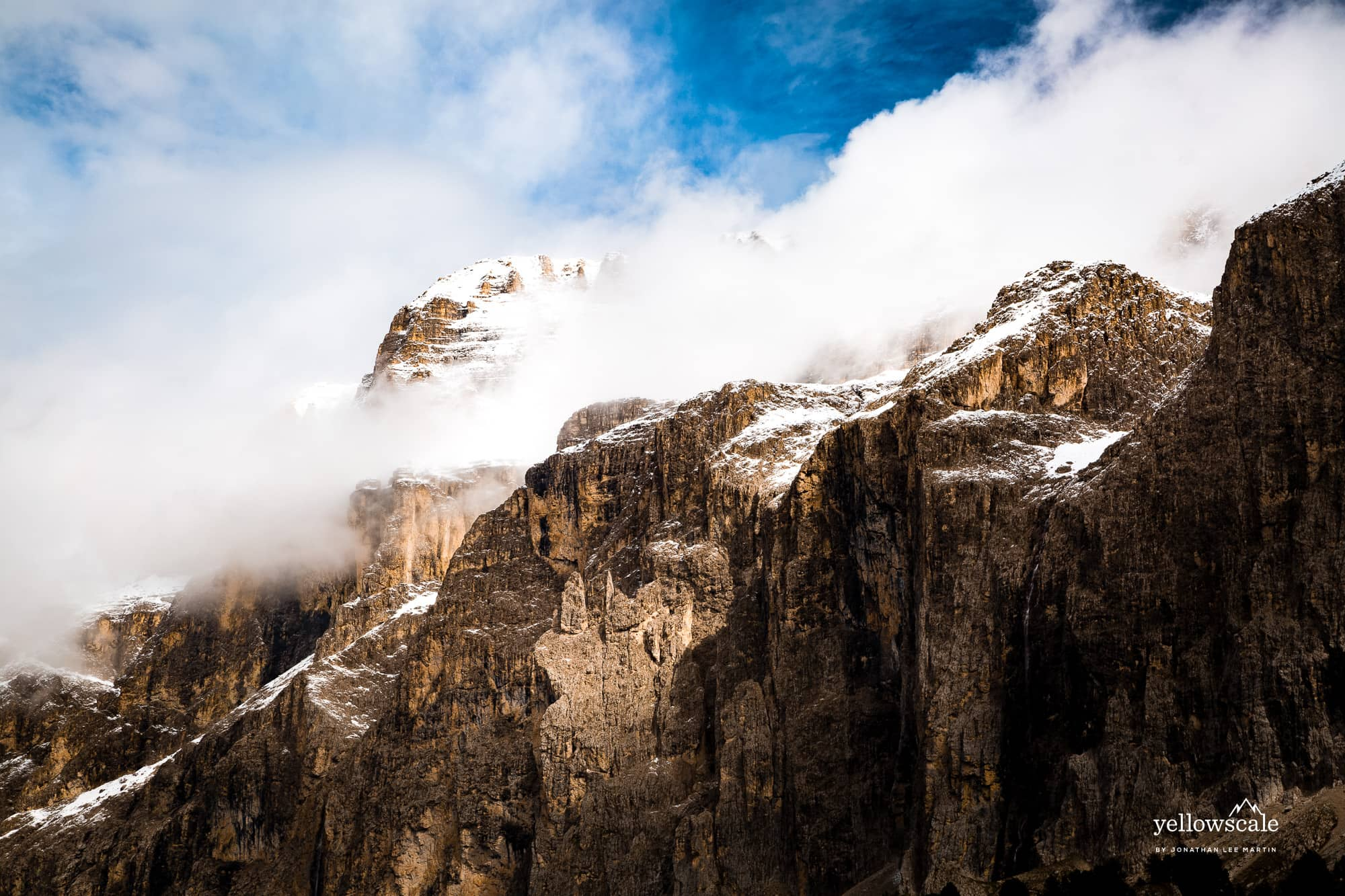 Clouds Rest on Sella Towers