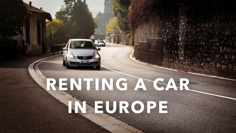 Should I Get Rental Car Insurance In Europe