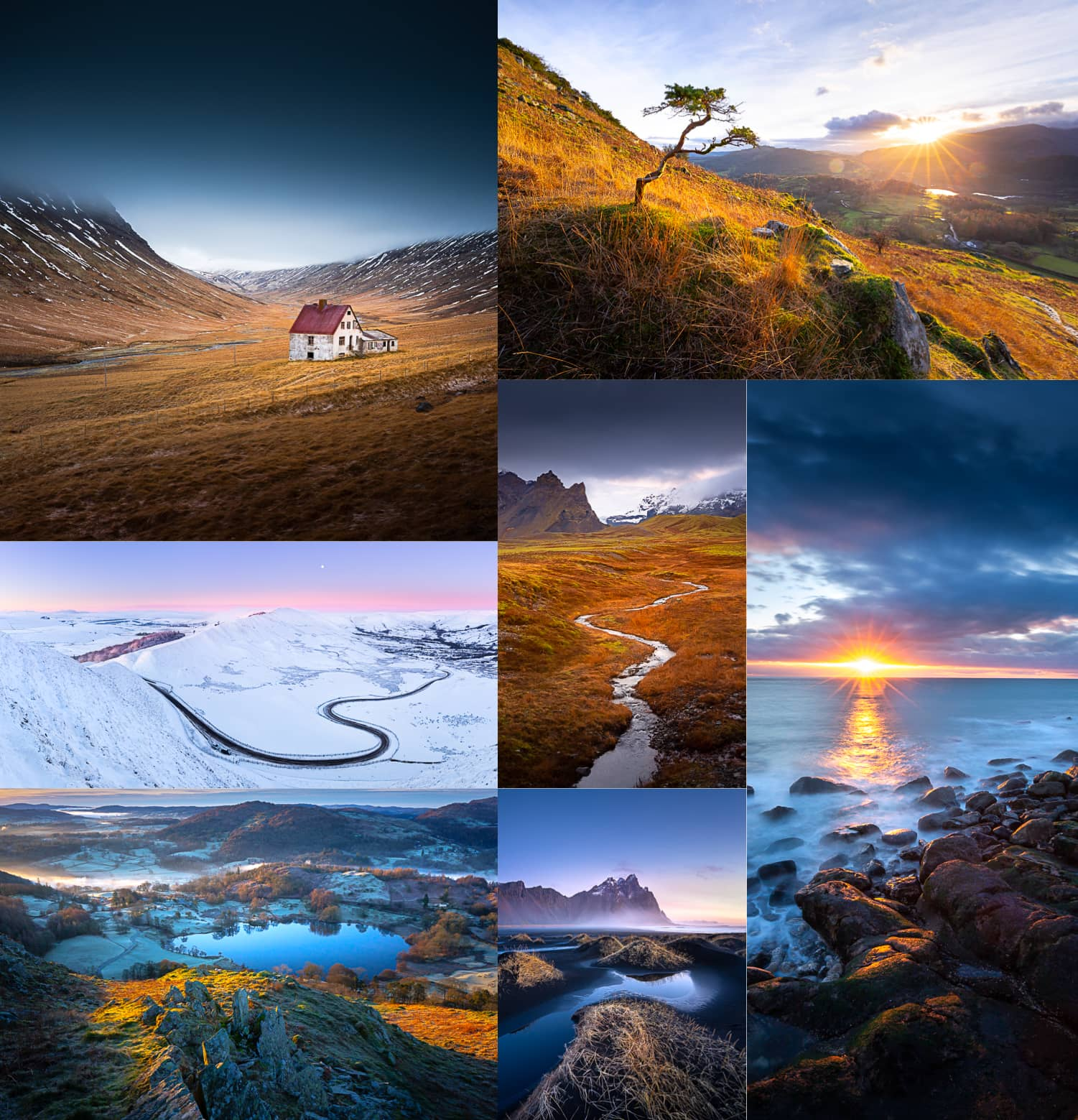 Landscape photography from 4 months on the road